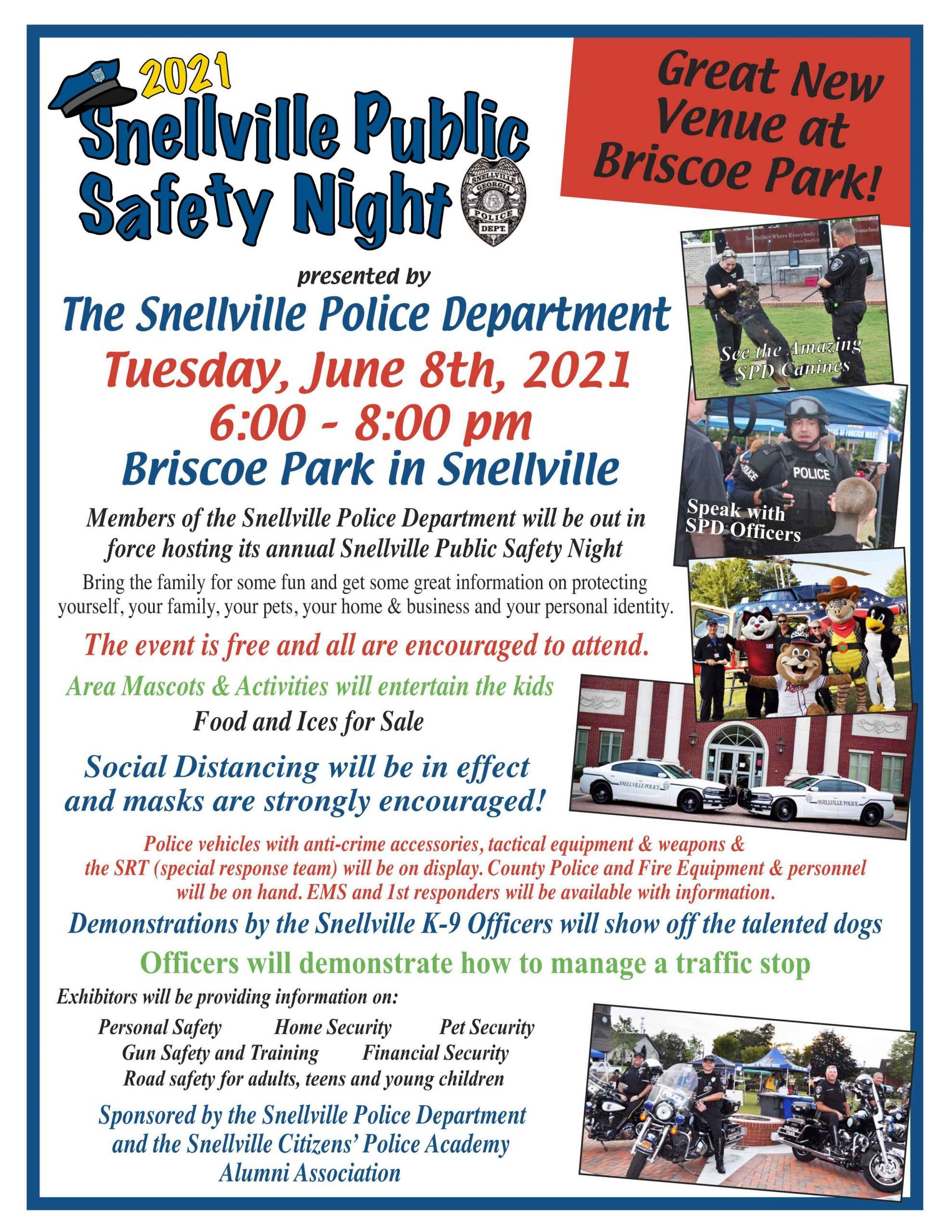 Snellville Public Safety Night